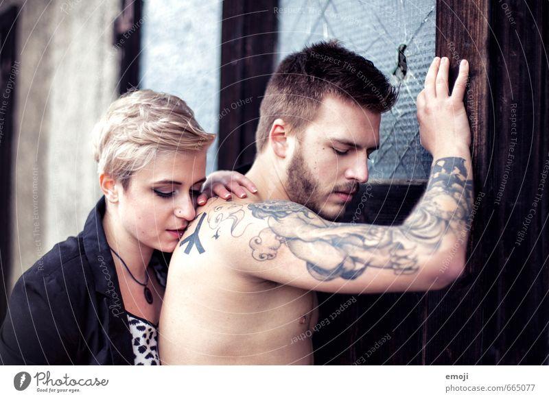 drawings Mensch Jugendliche Junge Frau 18-30 Jahre Junger Mann Erwachsene feminin Paar maskulin Tattoo trendy