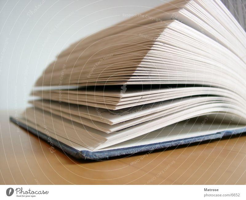 Open Book Buch Dinge Seite Makroaufnahme