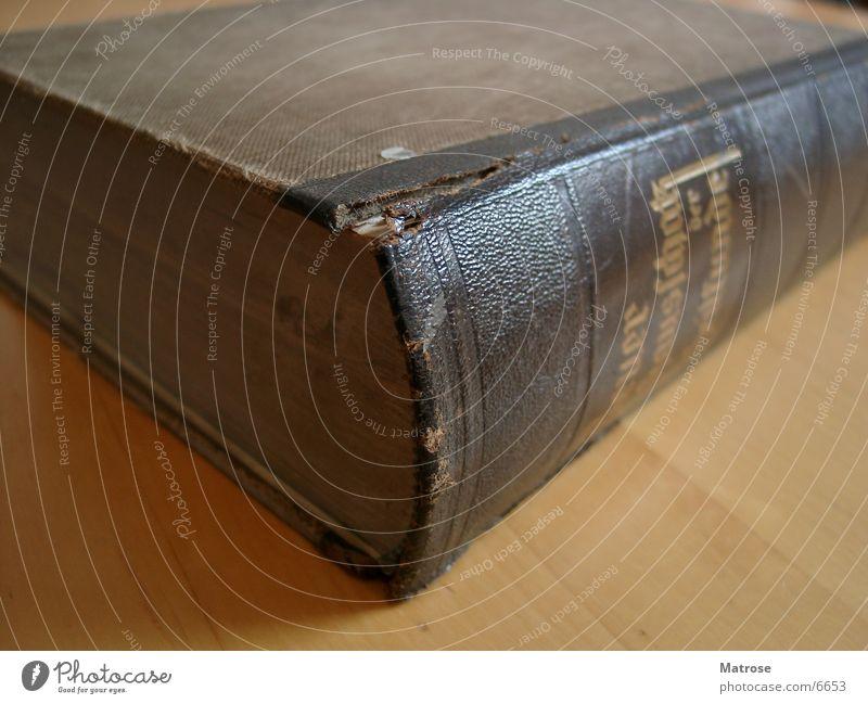Old Book Buch Blatt Dinge Bool alt Makroaufnahme