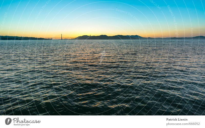 Golden Gate Himmel Natur Ferien & Urlaub & Reisen Wasser Sommer Meer Erholung Landschaft Wolken Ferne Umwelt Leben Freiheit Wellen Zufriedenheit Tourismus
