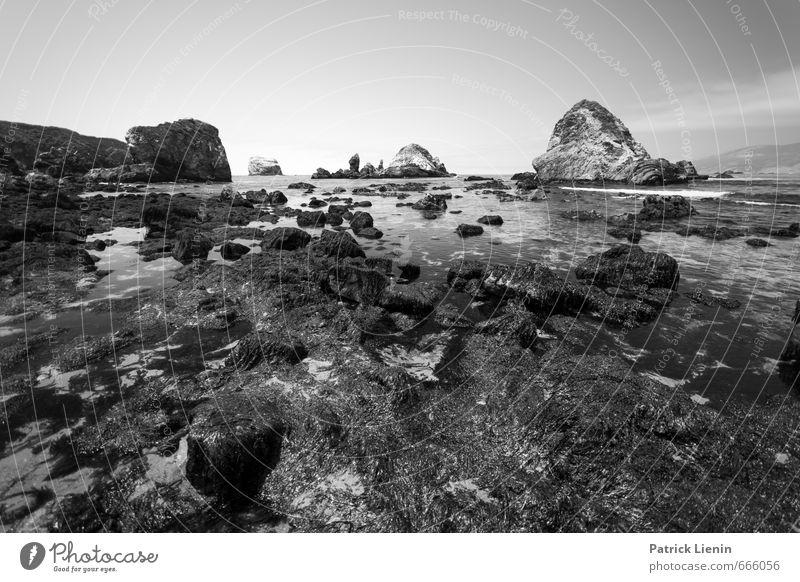 Pazifik Natur Wasser Erholung Meer Landschaft ruhig Umwelt Küste Felsen Luft Wetter Zufriedenheit Wellen wandern Schönes Wetter Abenteuer