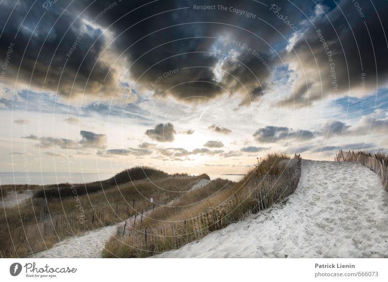 Wolkenmeer Himmel Natur Ferien & Urlaub & Reisen Pflanze Sommer Meer Landschaft Ferne Strand Umwelt Herbst Gras Sand Luft Wetter