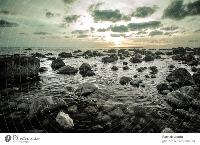 Napatree Point Himmel Natur Ferien & Urlaub & Reisen Wasser Sonne Meer Erholung Landschaft ruhig Wolken Ferne Umwelt Küste Freiheit Stein Erde