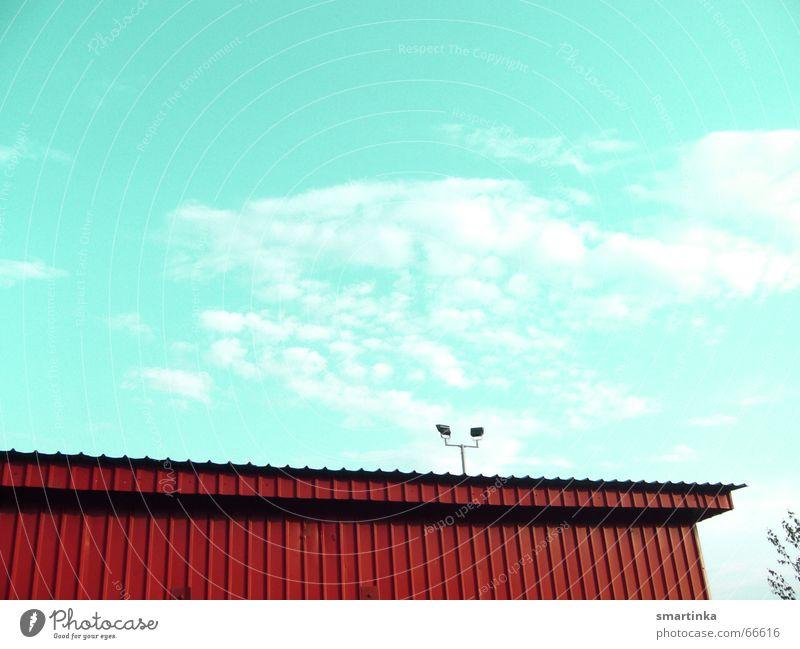BalkanBlues I Wohnung trist Dach Laterne Markthalle