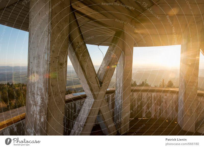 Sonnenturm harmonisch Wohlgefühl Zufriedenheit Sinnesorgane Erholung ruhig Meditation Ferien & Urlaub & Reisen Ausflug Abenteuer Ferne Freiheit Umwelt Natur