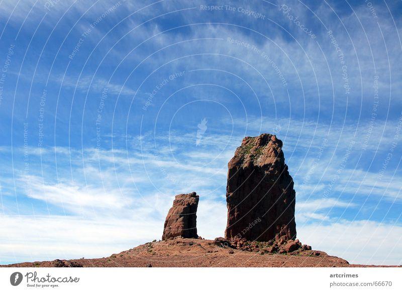 bigger is better Himmel Ferien & Urlaub & Reisen Wolken Berge u. Gebirge Stein Sand Landschaft Ausflug Macht trocken einheitlich gigantisch Kurzzeitbelichtung