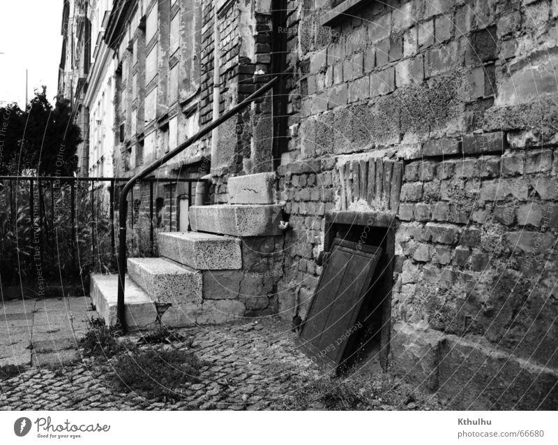 Aufbau Ost Haus Treppe Backstein Eingang Konstruktion Osten Erfurt
