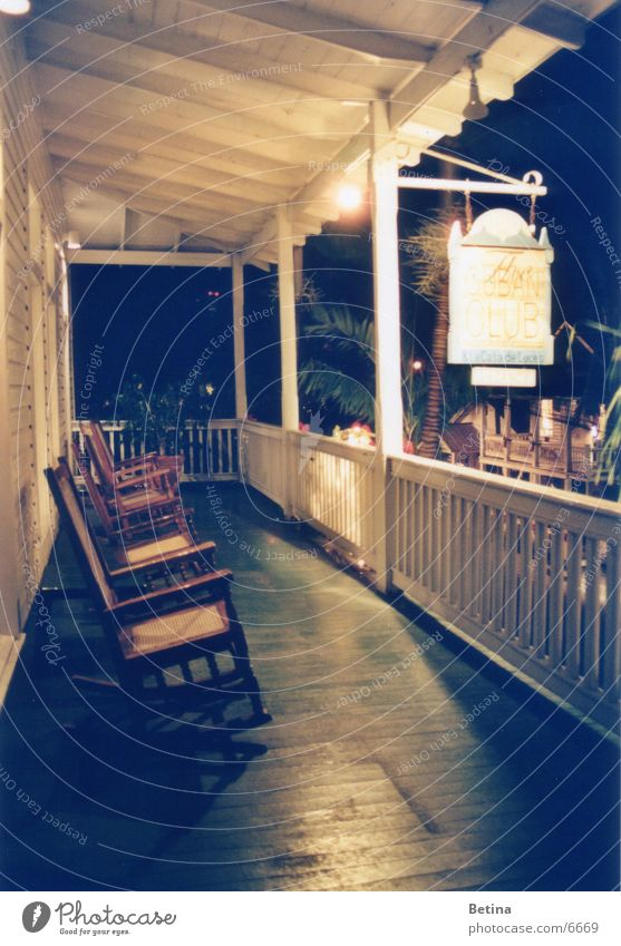 rocking chair ruhig Gelassenheit Terrasse geduldig Florida Schaukelstuhl Key West