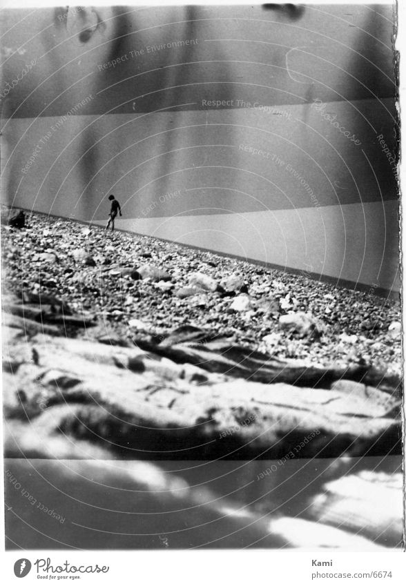Steinstrand Strand Fototechnik