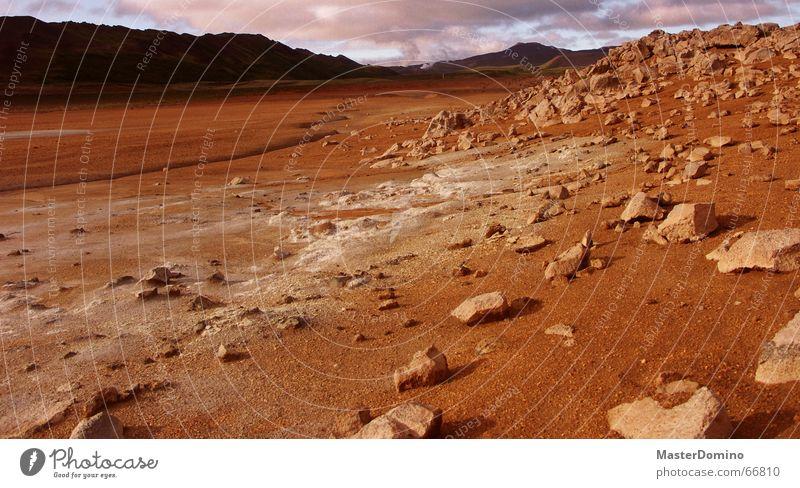 Twix Wolken Stein Landschaft Stimmung Felsen Weltall Gegend karg Marslandschaft Geröll Raumfahrt