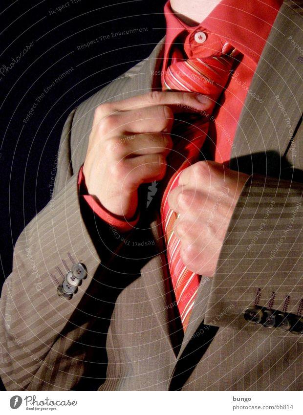 impetus Mann Hand schön rot Freude braun Feste & Feiern rosa elegant Ordnung Erfolg Finger Bekleidung Spiegel Hemd Anzug