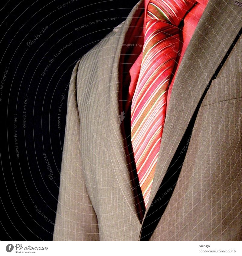 aspectus Anzug Krawatte rosa braun Nadelstreifenanzug Spiegel fein schön verschönern anziehen Kragen Hemd Ordnung sortieren Vorfreude elegant Ordnungsliebe rot