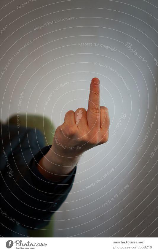STUDIO TOUR | Sir Stinkefinger Hand sprechen maskulin wild Finger bedrohlich Kommunizieren Zeichen Wut stark Aggression kämpfen Ärger Hochmut rebellisch
