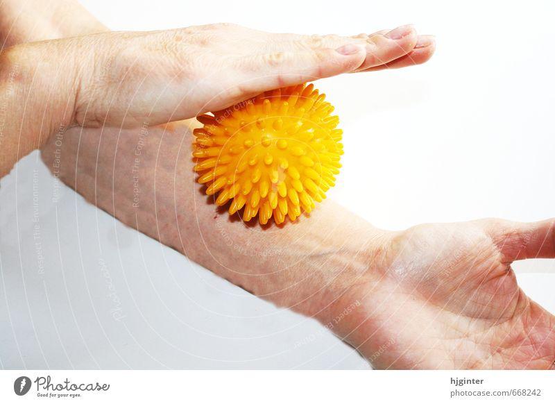 Massageroller schön Erholung Leben Bewegung Gesundheit Körper Lifestyle genießen Fitness berühren Wellness Wohlgefühl Körperpflege üben Alternativmedizin