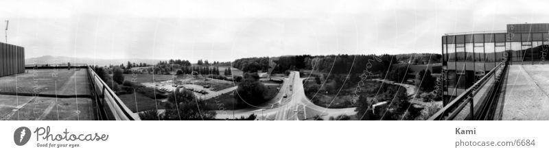 Panorama Panorama (Aussicht) Straße 180° groß Panorama (Bildformat)