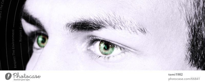 Meine Augen Nacht träumen Gesicht black Mensch man ilusion