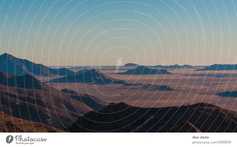 Namib Desert Natur Ferien & Urlaub & Reisen Einsamkeit Erholung Landschaft Berge u. Gebirge außergewöhnlich Felsen braun Stimmung wandern ästhetisch Abenteuer