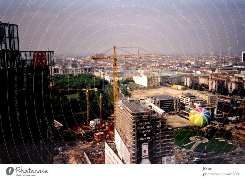 Berlin Stadt Architektur Baustelle Kran