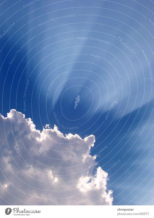 Strahlemann 5001 Wolken Himmel blau Hagen Sommer Gott Wetter Verlauf Sonne Reflexion & Spiegelung Kontrast Regen Gewitter Balkon Erholung Beleuchtung Anschnitt