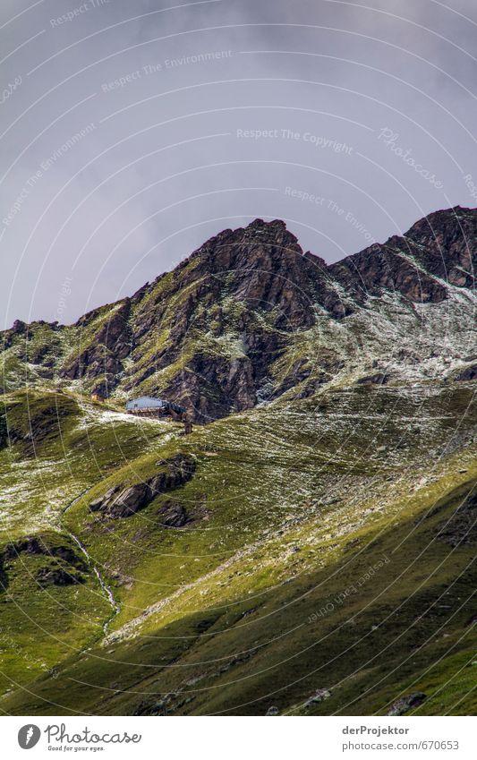 Der Berg ruft 05 Himmel Natur Ferien & Urlaub & Reisen Pflanze Sommer Landschaft Wolken Ferne Berge u. Gebirge Umwelt Gefühle Freiheit Felsen Freizeit & Hobby