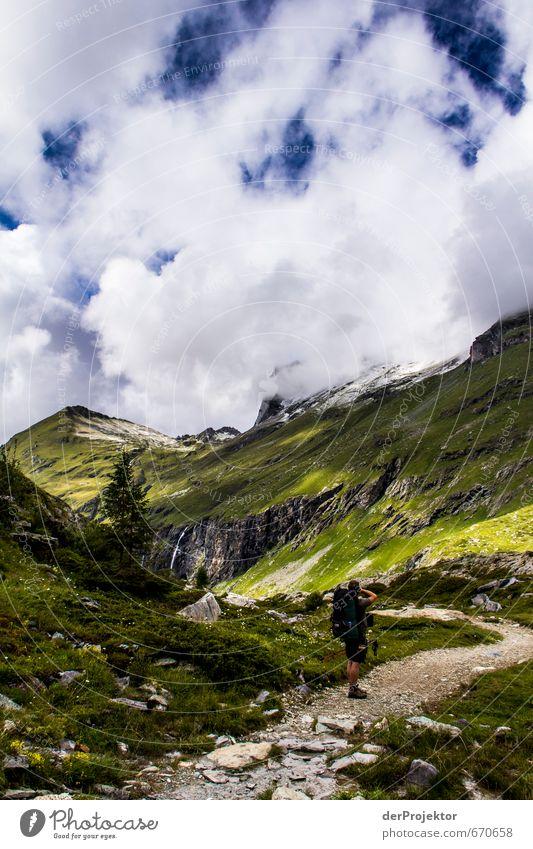 Der Berg ruft 08 und wird fotografiert Freizeit & Hobby Ferien & Urlaub & Reisen Tourismus Ausflug Abenteuer Ferne Freiheit Berge u. Gebirge wandern Umwelt