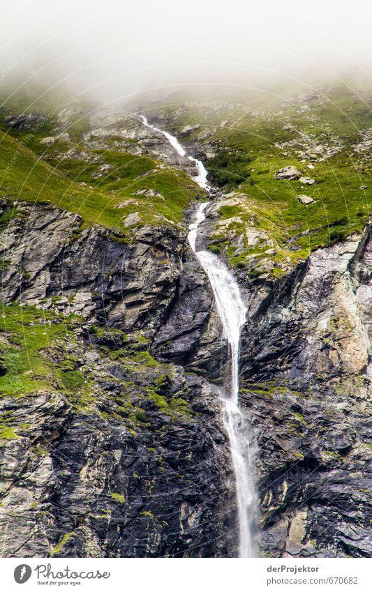 Wasser, Wasser überall... Natur Ferien & Urlaub & Reisen Pflanze Sommer Landschaft Ferne kalt Berge u. Gebirge Umwelt Leben Gefühle Felsen Freizeit & Hobby