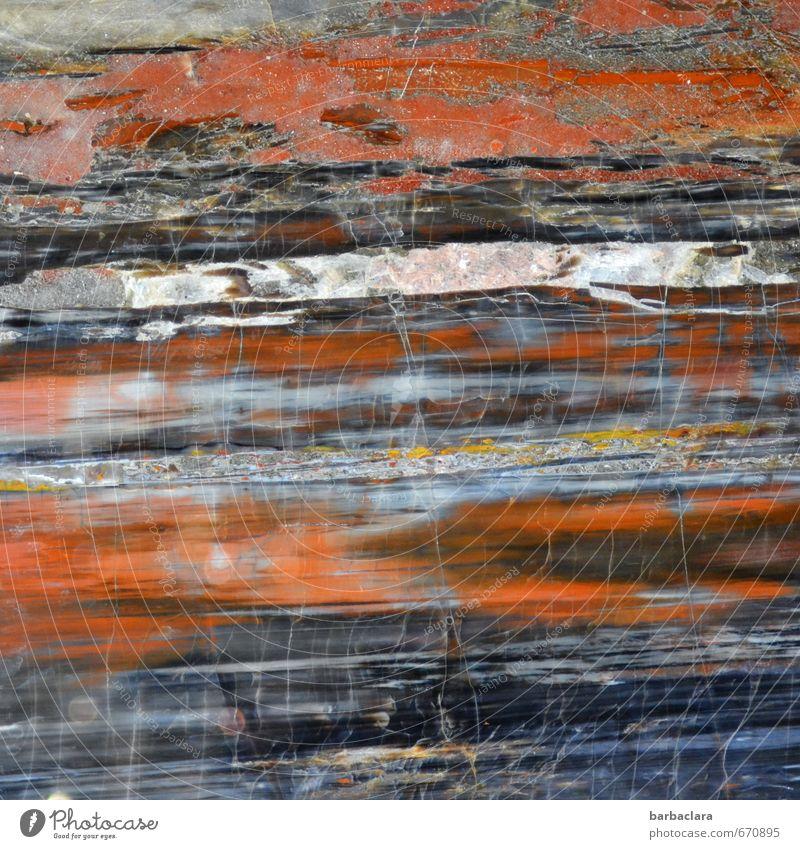 echt   Edelstein Natur Farbe Bewegung Stein Linie Kunst Erde wild authentisch Streifen Urelemente einzigartig fest bizarr Edelstein