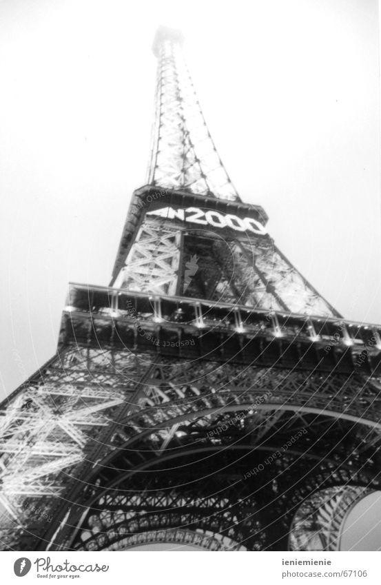 Millenium in Paris Turm Frankreich Tour d'Eiffel 2000