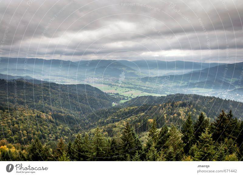 Dreisamtal Himmel Natur Pflanze schön Sommer Landschaft Wald Umwelt Berge u. Gebirge Stimmung Aussicht Urelemente Hügel Unwetter Klimawandel Tal