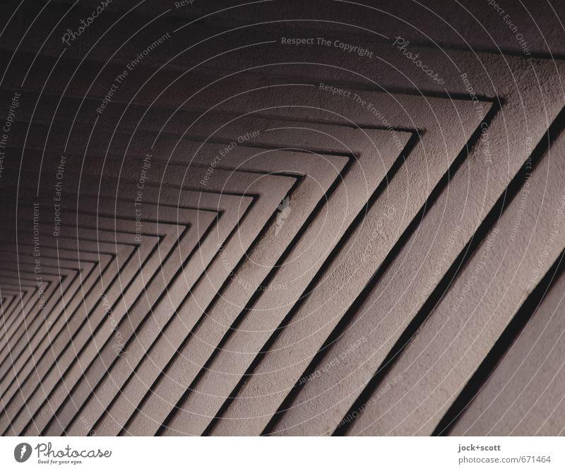 > 20 > Architektur Säule Putz eckig viele braun Symmetrie Geometrie Dreieck rechts Reihe Schattenspiel schmucklos Funktion Gedeckte Farben Detailaufnahme
