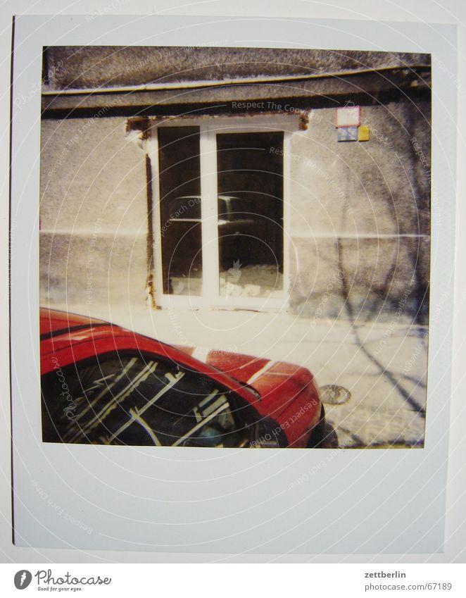 Polaroid III PKW Architektur Fassade Barock Fass Polaroid Umbauen Renaissance