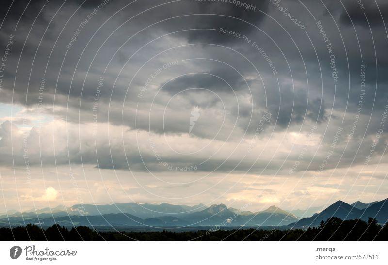 Bavaria Ausflug Abenteuer Ferne Umwelt Natur Landschaft Urelemente Himmel Gewitterwolken Sommer Klima Klimawandel Wetter schlechtes Wetter Unwetter