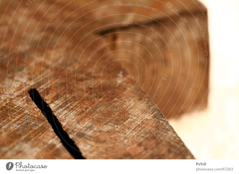 Rustified Stahl Geometrie Schlosser Säge Makroaufnahme braun Rost steel Metall feile Strukturen & Formen