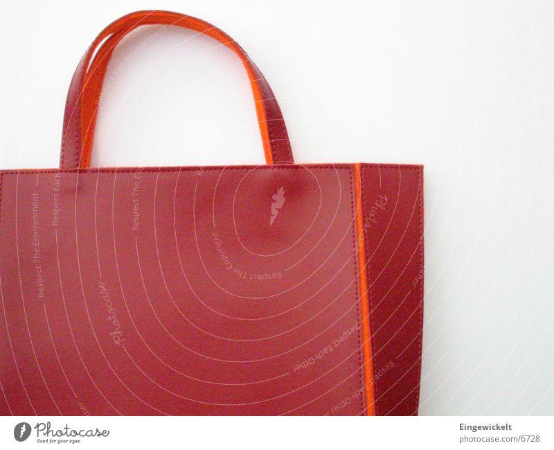 rote Tasche rot orange klein Freizeit & Hobby Tasche