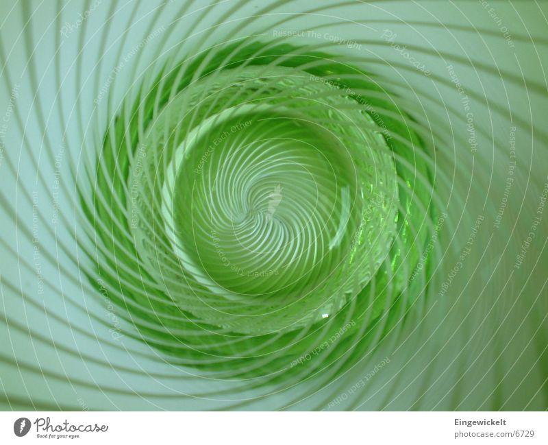 grünes Glas Innen Streifen Küche