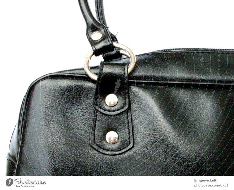 schwarze Tasche schwarz Freizeit & Hobby Tasche Handtasche