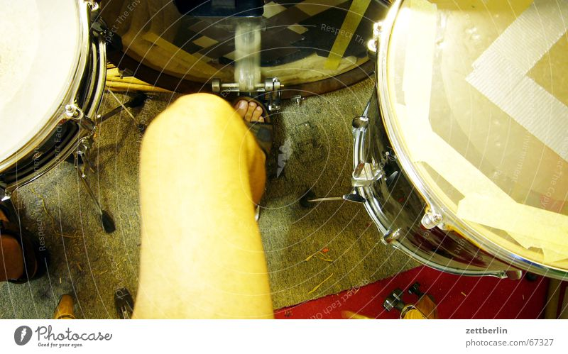 Ab die Post Schnur Schlagzeug Knie Trommel Tom Tom Proberaum Snare