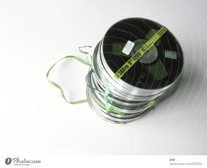 spielt keine Rolle mehr ... Musik Technik & Technologie Niveau Vergänglichkeit analog hören Informationstechnologie Ton Tonband Kontrabass Windung Datenträger