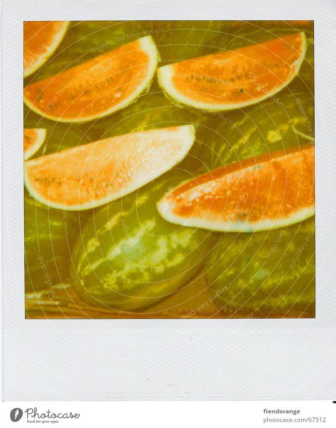 melon quarter Gesundheit Frucht retro Gemüse Markt Stadtteil