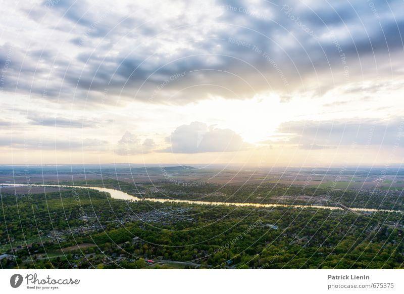 Frühling in Kanada Himmel Natur Sommer Sonne Baum Erholung ruhig Wolken Wald Umwelt Leben Wetter Zufriedenheit Kraft Klima
