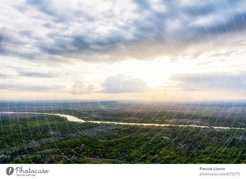 Frühling in Kanada Wellness Leben harmonisch Wohlgefühl Zufriedenheit Sinnesorgane Erholung ruhig Meditation Umwelt Natur Himmel Wolken Sonne Sonnenaufgang