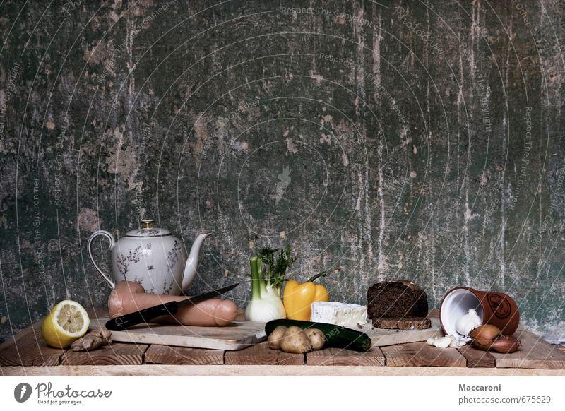 Ih Fenchel Gesunde Ernährung Lebensmittel Foodfotografie Sex einzigartig Spielzeug Gemüse Tee Frühstück Stillleben Brot bizarr Surrealismus seltsam Verbote Sexualität
