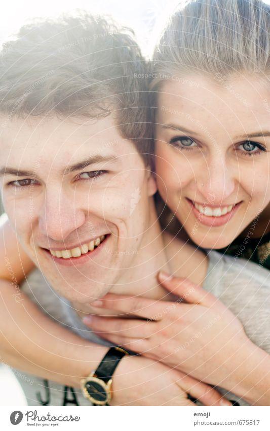 summer feeling Mensch Jugendliche schön Junge Frau 18-30 Jahre Junger Mann Gesicht Erwachsene Liebe feminin lachen Glück Paar Freundschaft maskulin Fröhlichkeit