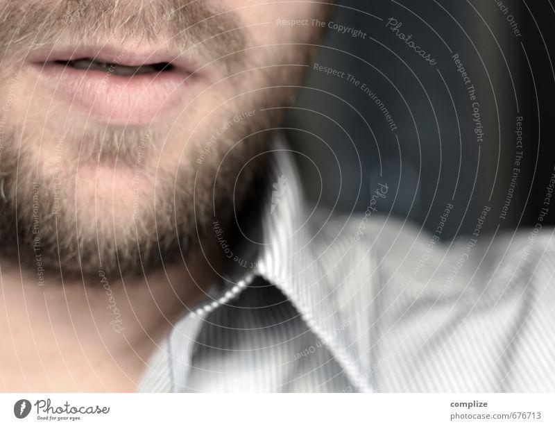 Ausschnitt Mensch Mann Gesicht Erwachsene Haare & Frisuren Gesundheit Kopf Arbeit & Erwerbstätigkeit Behaarung Business Körper Lifestyle Haut Erfolg Mund