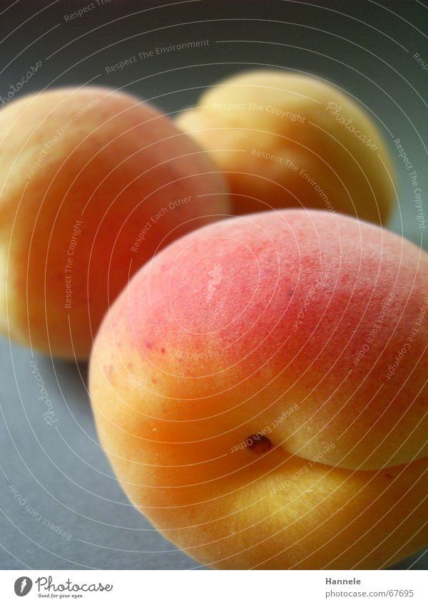 le pfirsich Pfirsich Sommer Abendessen Saft saftig süß 3 gelb rot weich Fell Ernährung Frucht orange Stein Lebensmittel