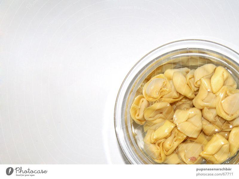 Tortellini á la Mikrowelle Wasser Ernährung Glas Tisch Kochen & Garen & Backen Appetit & Hunger Nudeln Schalen & Schüsseln Behälter u. Gefäße