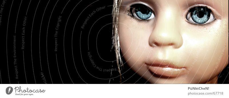 Puppe Frau Mädchen schön Gesicht Spielen Spielzeug Kindheit falsch
