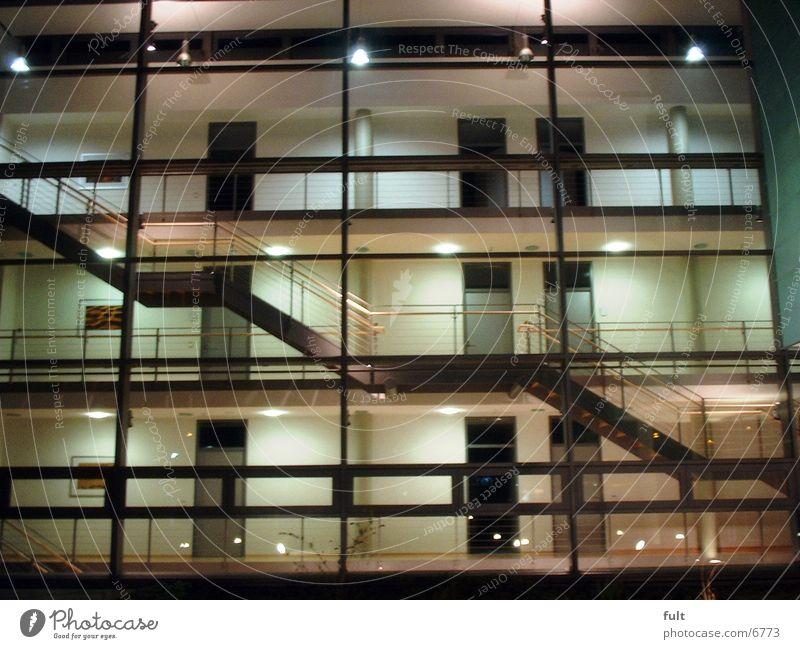 Fassade Architektur Glas Treppe Niveau