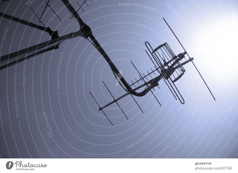 { receiver } alt oben Technik & Technologie Dach Fernsehen Top Radio Antenne Software transferieren einfangen Verstärker Rundfunksendung