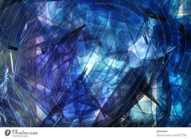 blaulicht Himmel Kunst Hintergrundbild Lichtkunst